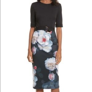 BNWT!! Ted Baker Dress with Chelsea Print Sz 4